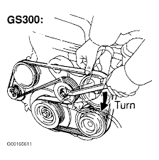 1998 lexus gs 300 serpentine belt routing and timing belt diagrams