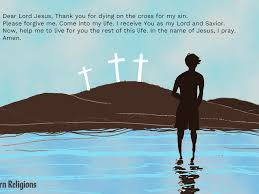 Say A Salvation Prayer And Receive Jesus Christ Today