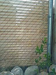 wire fence covering. I Have A Chain Link Mesh Surrounding My Backyard Bought Cedar Lath From  Home Depot For It Weaves Easily And Perfectly One Bundle Covers Section Of Fence Wire Fence Covering F