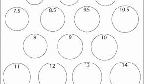Ring Size Chart For Men Actual Size 36 Detailed Printable Ring Size Guide