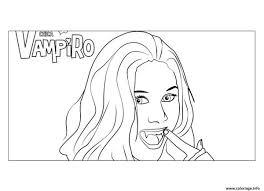 Coloriage Chica Vampiro Dessin Imprimer Gratuit