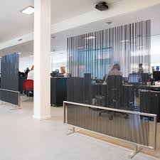 Office devider Fabric Decoration Used Room Dividers Modern Types Of And Their Benefits Homes Innovator For From Coralbrowneinfo Used Room Dividers Stylish Uncategorized Inspiring Office Divider