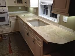 marble tile countertop