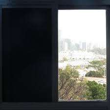 Light Filtering Window Film Us 124 49 17 Off Blackout Window Film Privacy Window Tint Black Stickers 100 Light Blocking Room Darkening 30