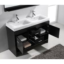 Vanity Bathroom Set Virtu Usa Gloria 48 In Double Basin Vanity In Espresso With