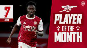 The best of Bukayo Saka | Arsenal Player of the Month for December 2020 -  YouTube