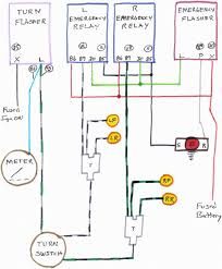 flashers and hazards at 3 prong flasher wiring diagram wordoflife me 3 Prong Signal Flasher Diagram thesamba com beetle for 3 prong flasher wiring diagram 3 Prong LED Flasher Schematic