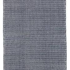 dash albert navy herringbone indoor outdoor rug