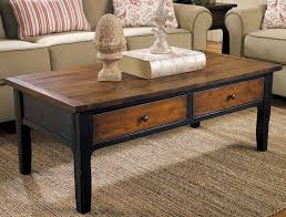 stylish living room table with drawers and wooden coffee tables design ideas for living room home