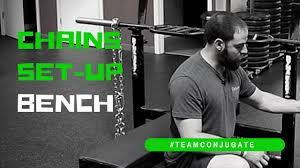 Using Bench Press Bands U0026 Chains For ExplosivenessChains Bench Press