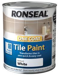 exterior tile paint b q. ronseal tile paints white gloss paint0.75l | departments diy at b\u0026q exterior paint b q e