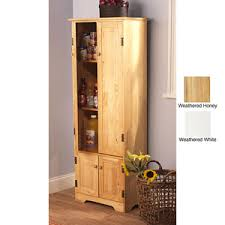 tall wood storage cabinets. Delighful Wood Extratall Solid Pine Wood Storage Cabinet 11952129OFS219 In Tall Cabinets L