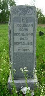 Ezekiel Coleman (1848-1916) - Find A Grave Memorial