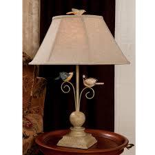 table lamp for prepossessing bird of paradise table lamp and nova lighting bird s nest heart table