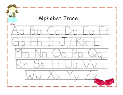 Free Printing Worksheets Printable Alphabet Tracing Worksheets Free ...