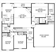 3 bedroom 2 1 2 bath floor plans 3 bedroom 2 bath 1 story house plans