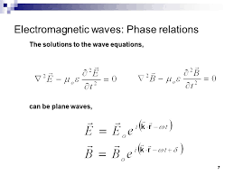 1 electromagnetic waves hecht chapter 2 monday october 21 ppt
