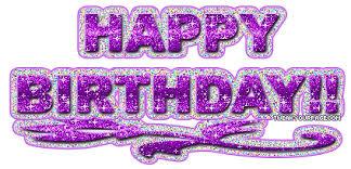 Purple Happy Birthday Planetcalypsoforum Gallery