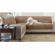 deluxe armless furniture cover for sofa