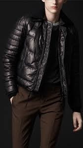 burberry prorsum men quilted leather er jacket