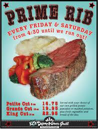 prime rib dinner flyer.  Rib Primeribflyer42011  To Prime Rib Dinner Flyer Executive Hotels U0026 Resorts  WordPresscom