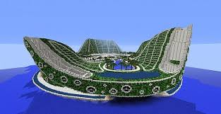Small Picture Lilypad City Eco Floating City Minecraft Building Inc