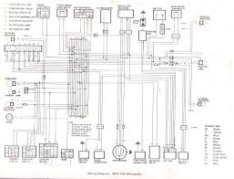 honda mtx 125 engine diagram honda wiring diagrams