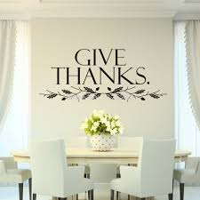 aliexpresscom  buy removable wall sticker quotes give thanks