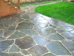 diy flagstone walkway laying flagstone how to lay flagstone walkway patio design irregular patio installation large diy flagstone walkway