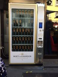 Vending Machine Italy Gorgeous Convenient Moët And Chandon Vending Machine Yelp