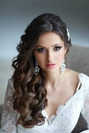 Medium Length Curly Hairstyles For Weddings