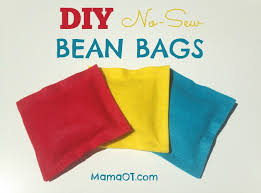 these diy no sew beanbags are simple to make inexpensive and can be