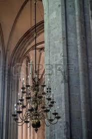 pillar chandelier