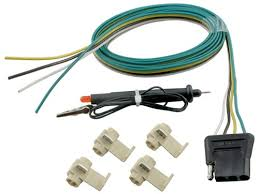 instructions for wiring and installation of a peak backup camera 4 pole hardwire kit circuit tester