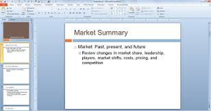 ppt business plan presentation free marketing plan template for powerpoint presentations