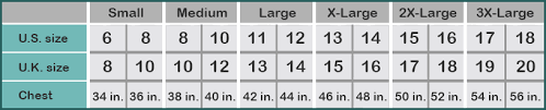 Size Chart Hautebutch
