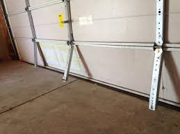 2 X 16 Ft Steel Horizontal Garage Door Support Strut : Simple Garage ...