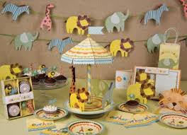 Jungle Critters Collection Candle Favors Safari Baby Shower Baby Shower Jungle