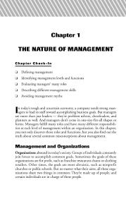principles of management cliffs quick review 12