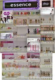 new essence bairly sheer cosmetics display target s makeup haul