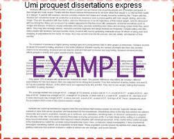 Umi digital dissertations