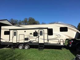 2016 keystone cougar 326srx toy hauler in winterset iowa 50273 travel trailers