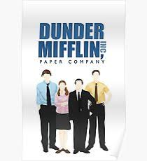 the office posters. Dunder Mifflin Paper Company - The Office Poster Posters