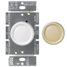 fan pole. lutron rotary 1.5-amp single-pole 3-speed fan control - white pole