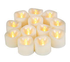 Fake Tea Lights Ebay Details About 12 Pcs Premium Led Flameless Tea Lights Candles With Timer 6hrs On