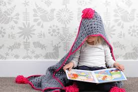 Hooded Blanket Crochet Pattern Best Decorating Design
