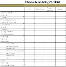 Home Remodel Estimate Template Bathroom Remodel List Checklist Home Remodeling Material