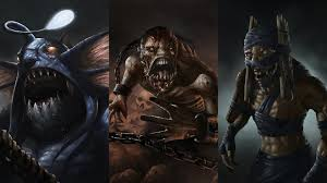 wallpaper dota 2 slardar lifestealer shadow shaman undead monsters