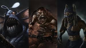 wallpaper dota 2 slardar lifestealer shadow shaman undead monsters