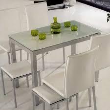 Mesa De Cocina Metalica Con Tapa De Cristal   Mesa De Cristal Cocina